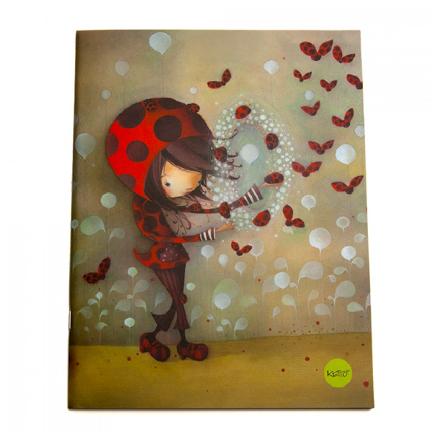 Cahier Fille Coccinelle
