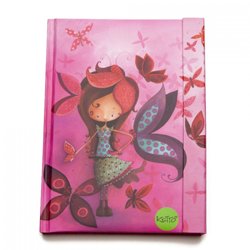 Journal Fille Papillon