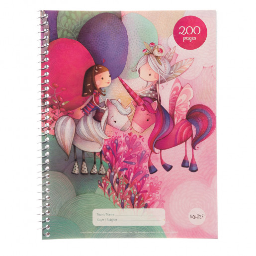 Cahier spirale | 200 pages | Flavie