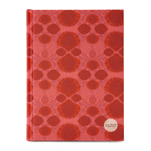 Journal Pompon Rose