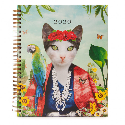 Agenda hebdomadaire 2020 Frida Cathlo So Meow