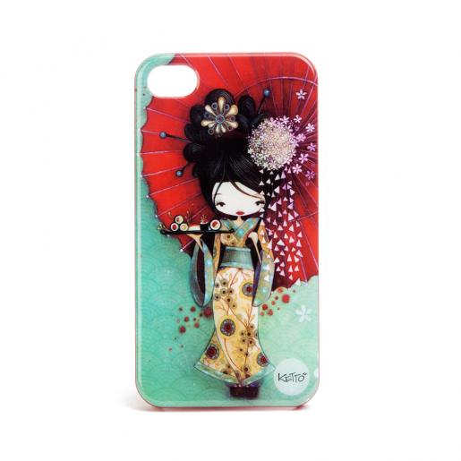 Coque à Iphone 4 Geisha