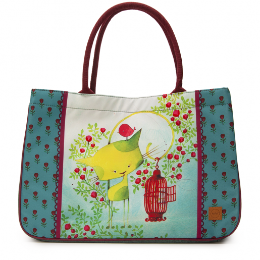 Sac costaud Kiwi le chat