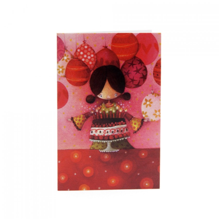 Mini card Birthday girl