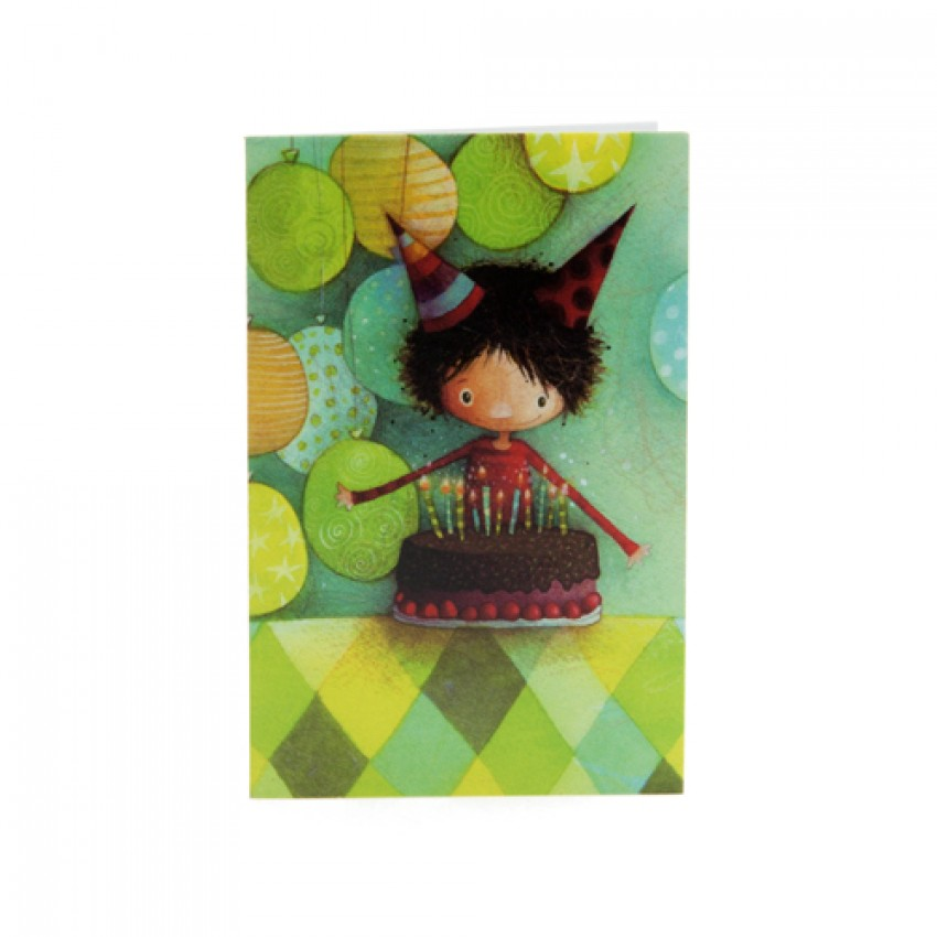 Mini card Birthday boy