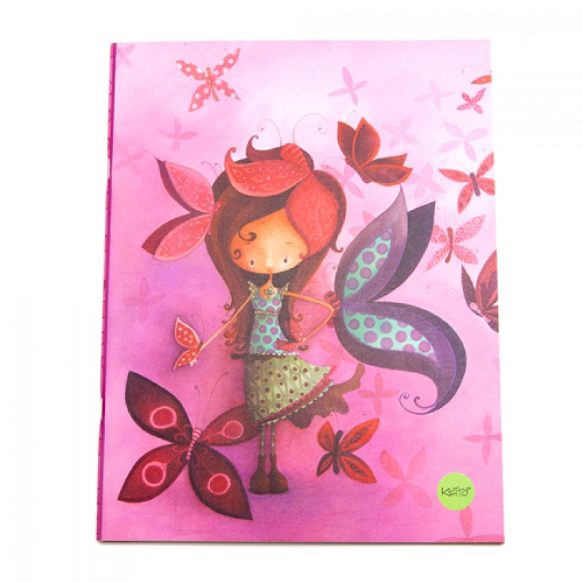 Notebook Butterfly Girl