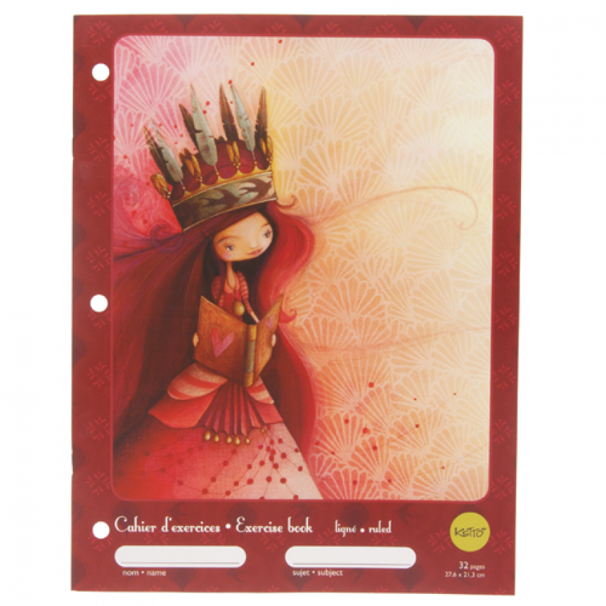 Exercise book - Penelope - Red