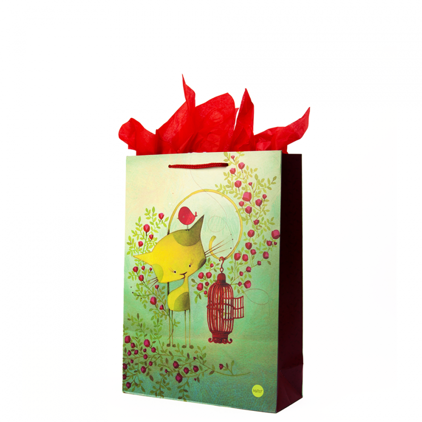 Medium gift bag Bird on the run