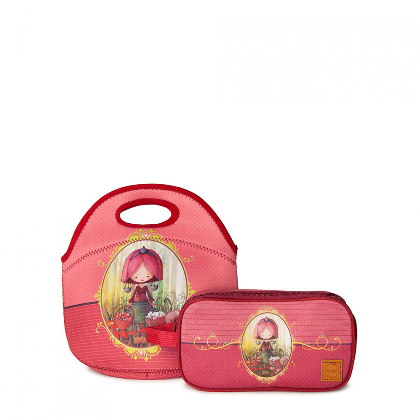 Duo Lunch bag Sweet & Double case   Anick