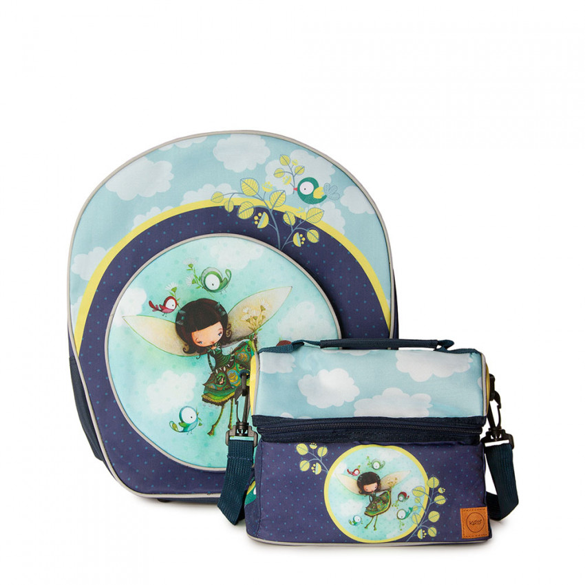 Duo Backpack & Lunch bag Dome | Thalie