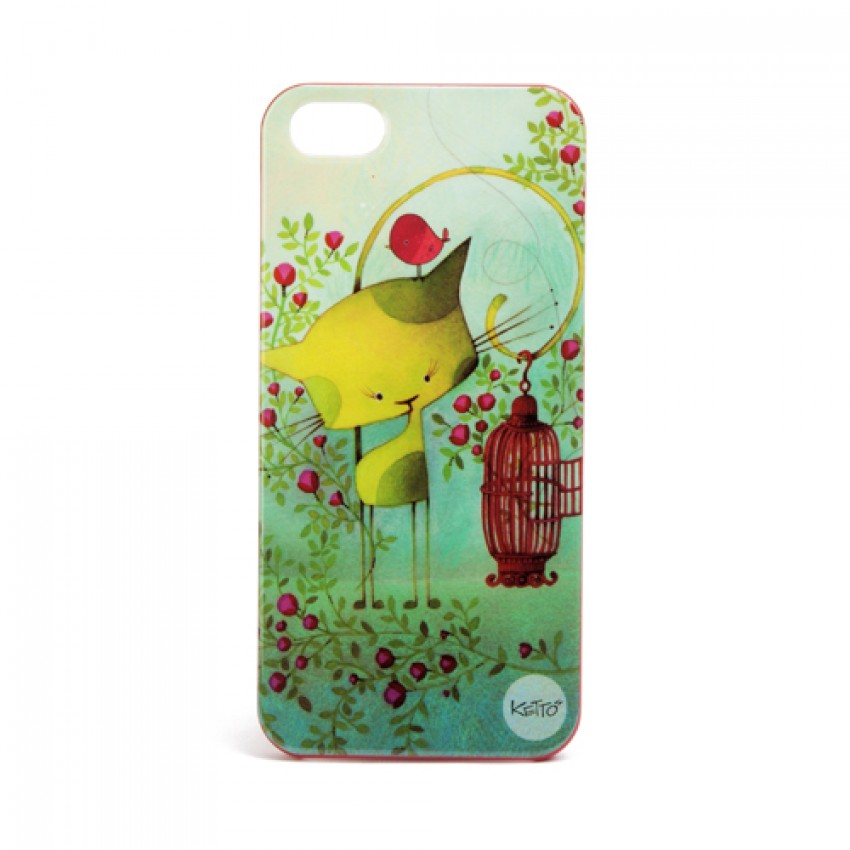 iPhone 5 case Bird on the run