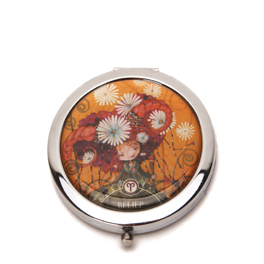 Pocket mirror Zodiac- Aries