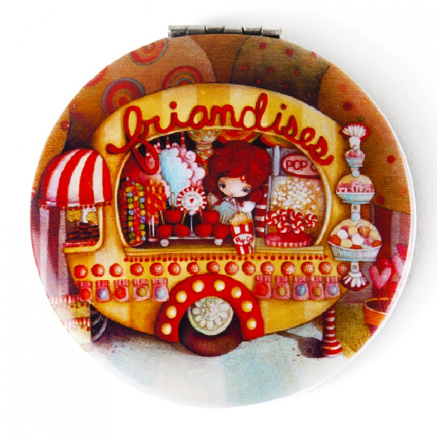Pocket mirror Candy mobile