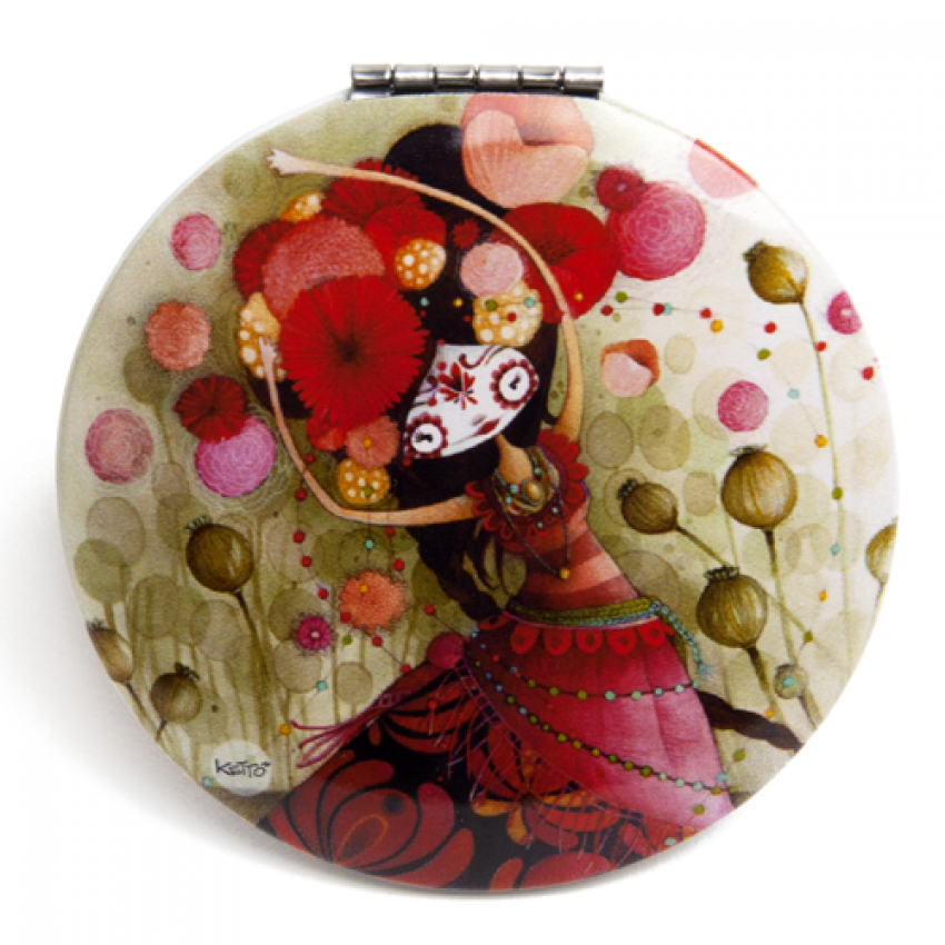 Pocket mirror Catrina pocket mirror