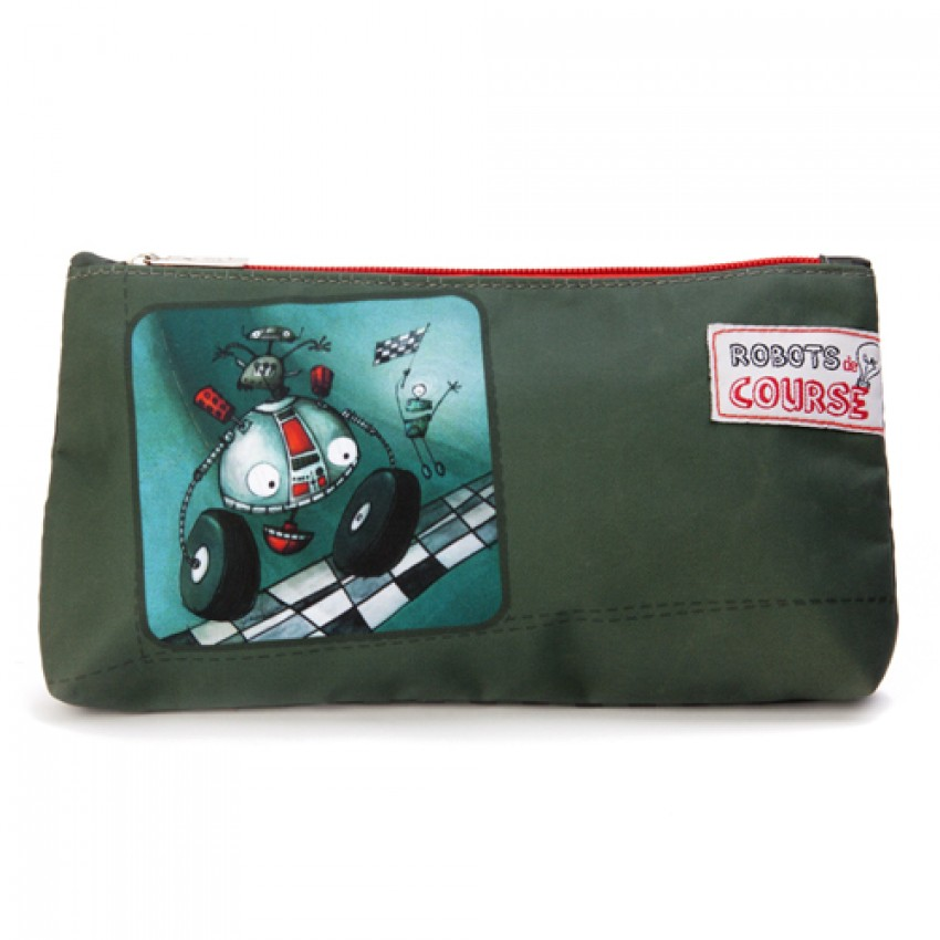 Simple pencil case Robots