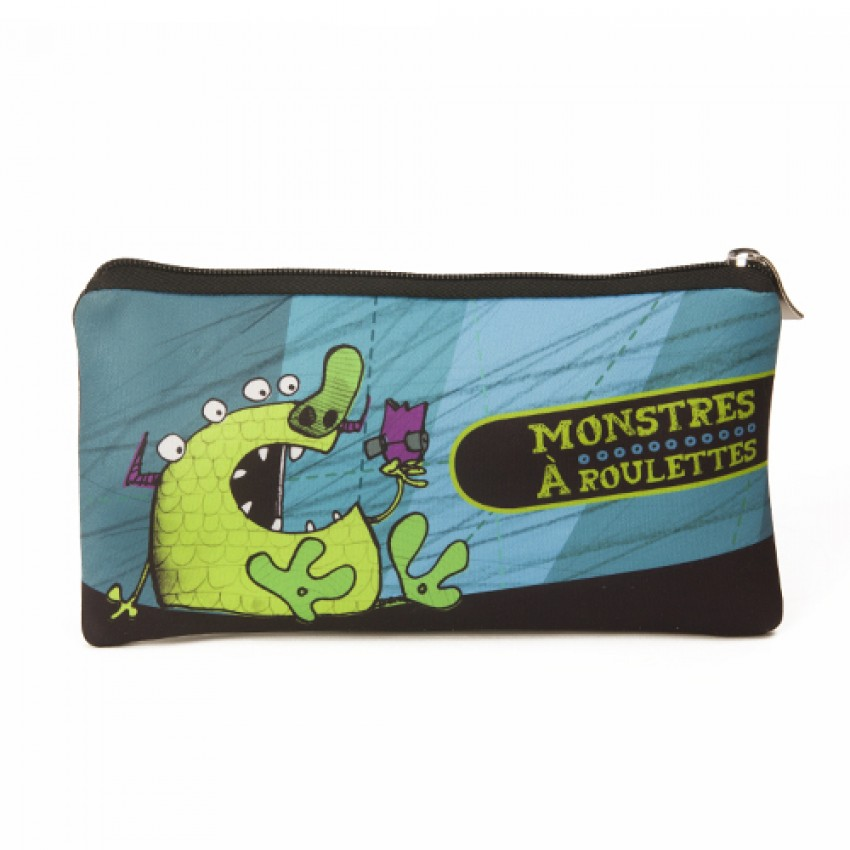 Simple pencil case Monsters