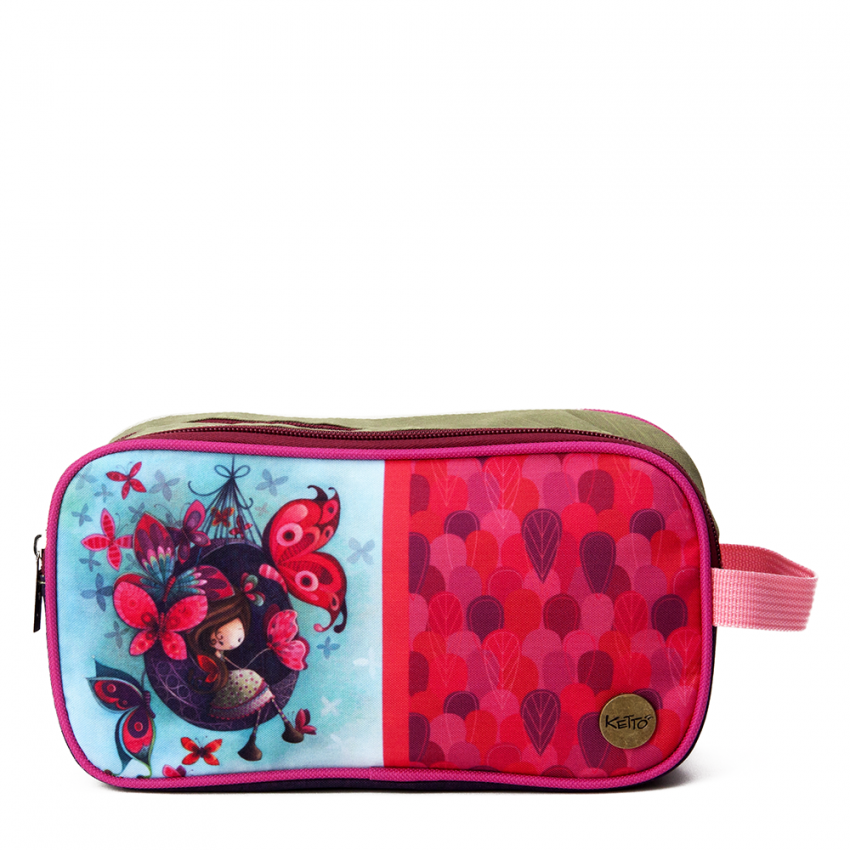 Double pencil case Fannie