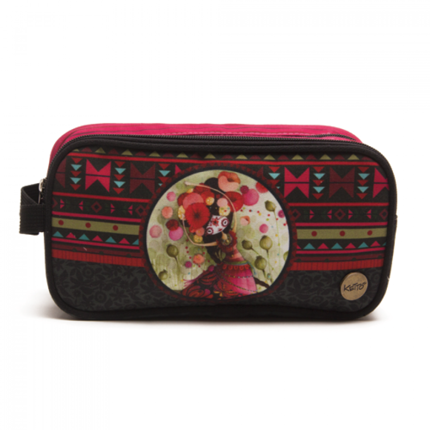 Double pencil case Catrina