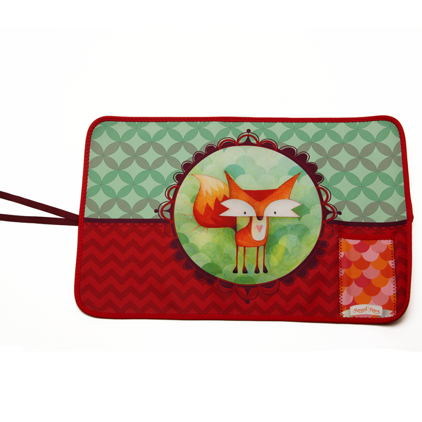 Fabric placemat Fox