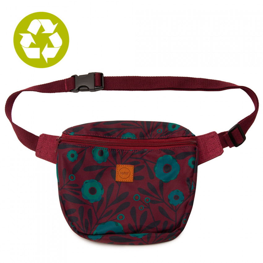 Fanny pack | Turquoise Poppy