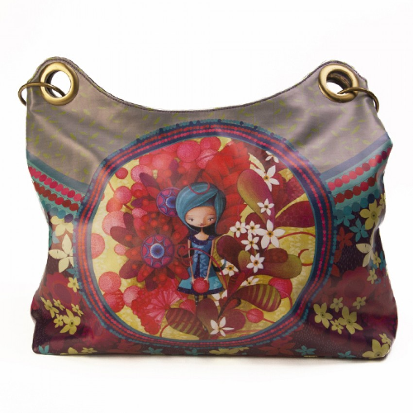 Carry-all bag Blue lady