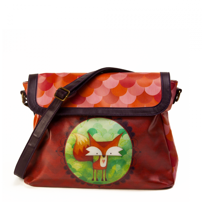 Bucket bag Fox