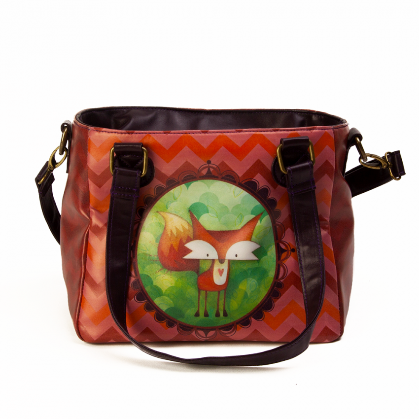 Fashion lunch bag Fox
