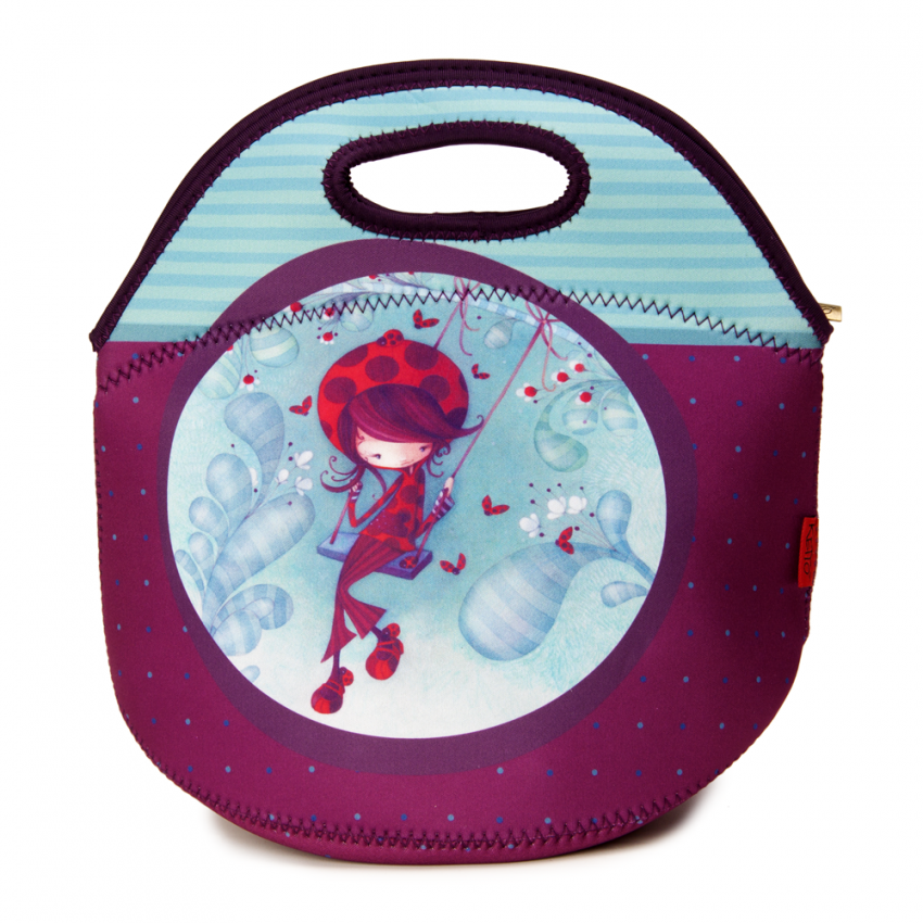Lunch bag Sweet Daphné the Ladybug