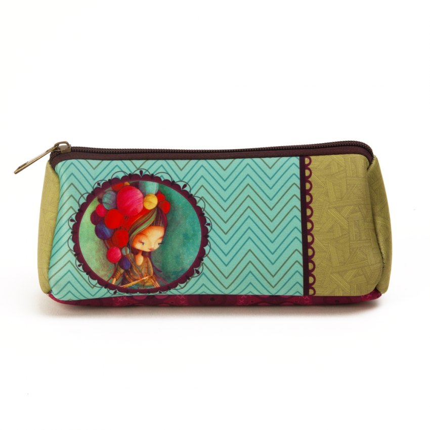 Little swell pouch Knitting lady
