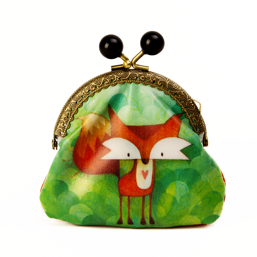 Coin purse Fox