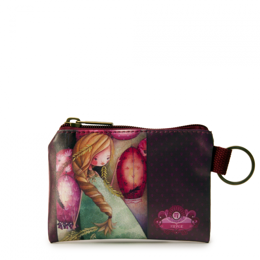 Small Square Coin Purse- Virgo