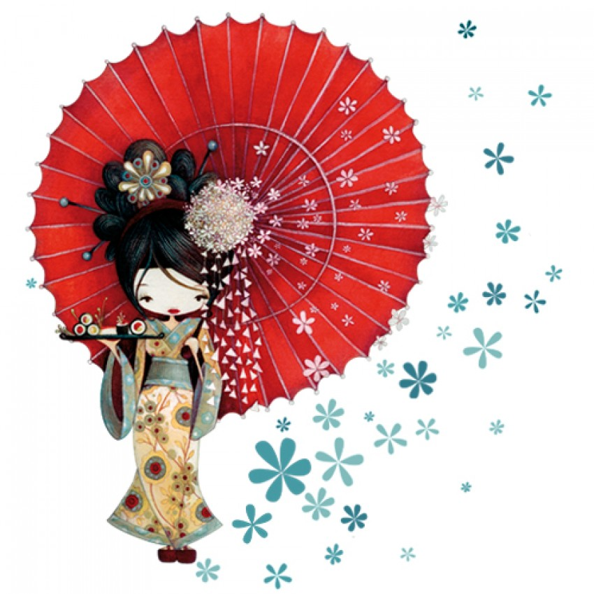 Wall decor Geisha