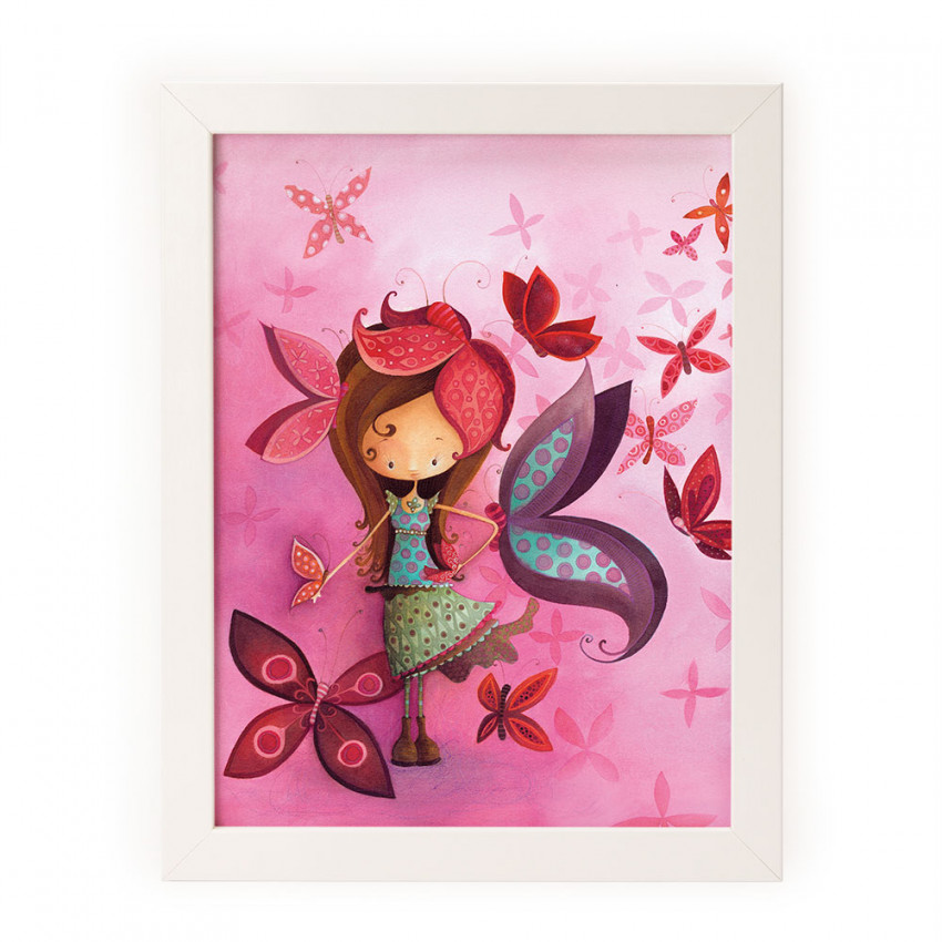 Reproduction | Mathilde and her butterflies