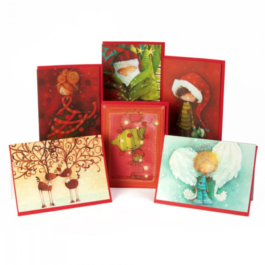 Box of 12 Christmas cards