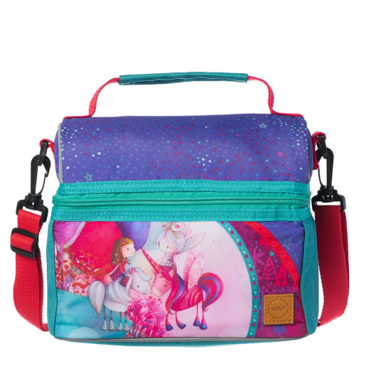 lunch box for girl or woman unicorn ketto