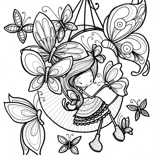 Coloring page | Fannie
