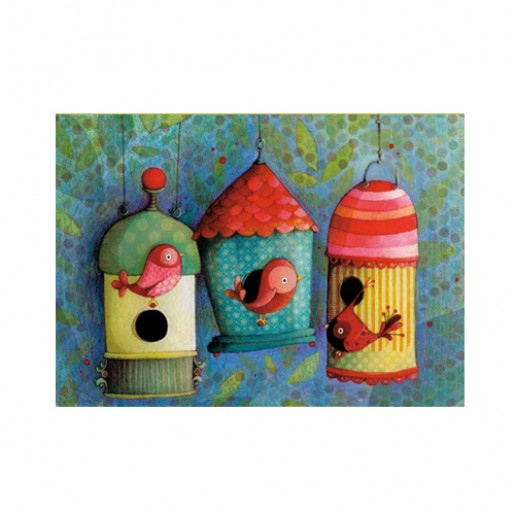 Card Bird houses