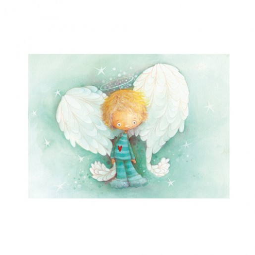 Christmas Card Angel