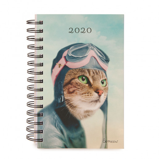 Daily agenda 2020 The Explorer So Meow