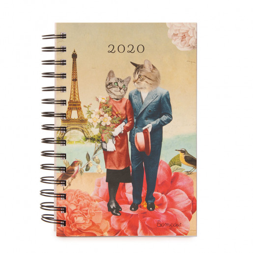 Daily agenda 2020 Lovers So Meow