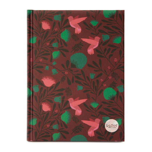 Journal Turquoise poppy
