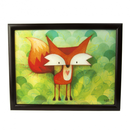 Cushioned lapdesk Fox