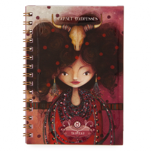 Zodiac Address Book - Taurus