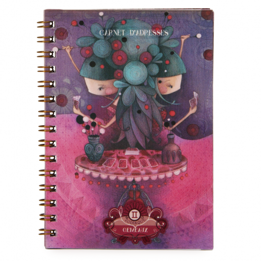 Zodiac Address Book - Gemini