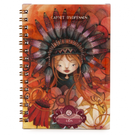 Zodiac Address Book - Leo