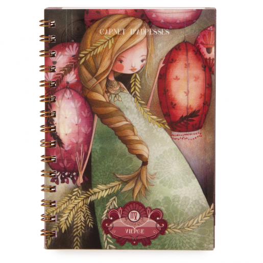 Zodiac Address Book - Virgo