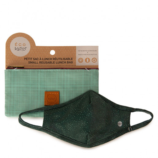 Duo Face mask and pouch | Starry sky