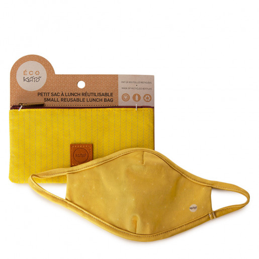 Duo Face mask and pouch | Stars