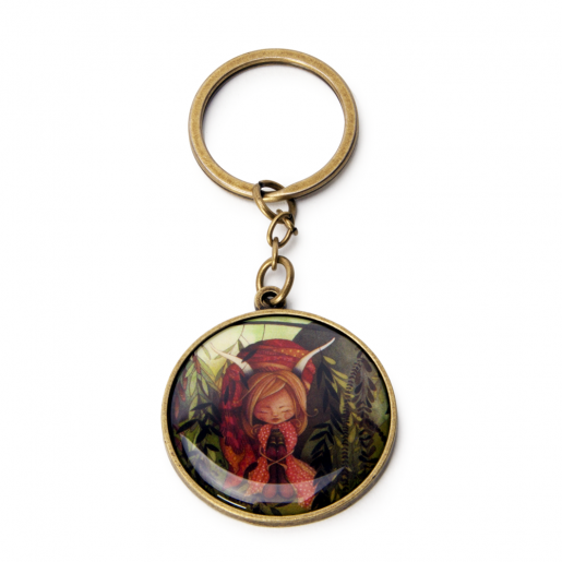Key Chain Zodiac- Capricorn