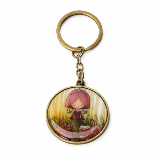 Key Chain Zodiac- Libra